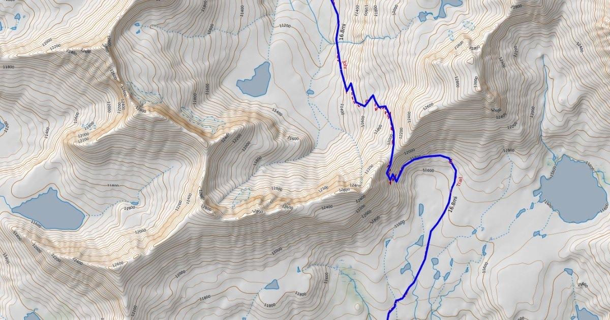 Mapping: CalTopo.– Doing Miles