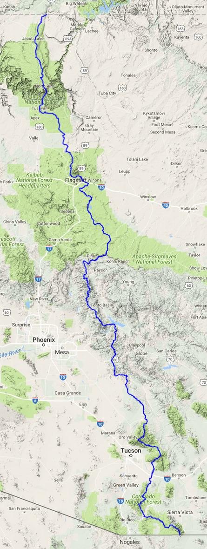 Arizona Trail – Doing Miles